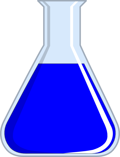 Chemistry clip art at. Chemical clipart flask