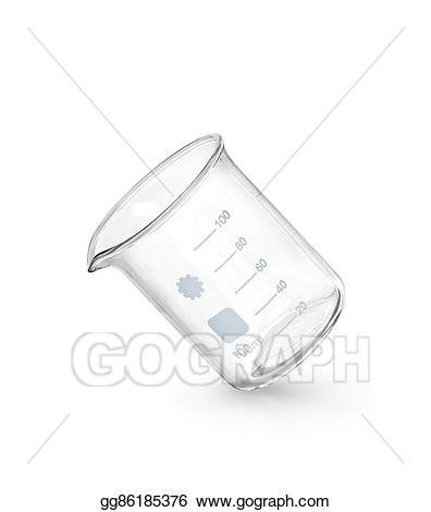 Chemical clipart glass. Stock illustration equipment empty