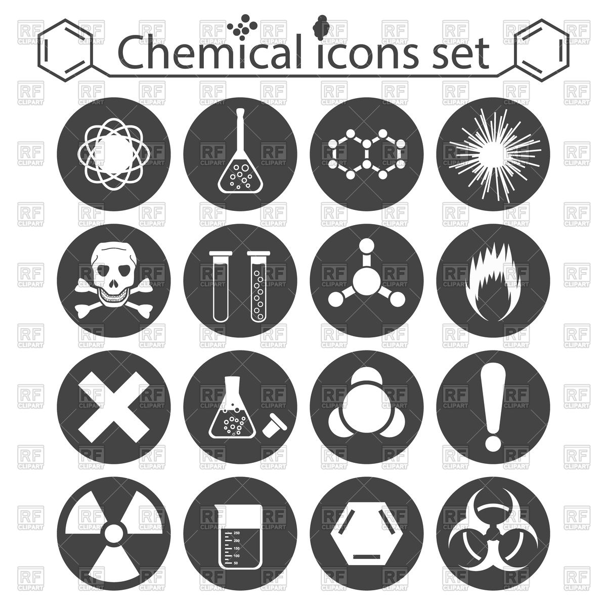 Chemical clipart hazardous chemical. Toxic substance pencil and