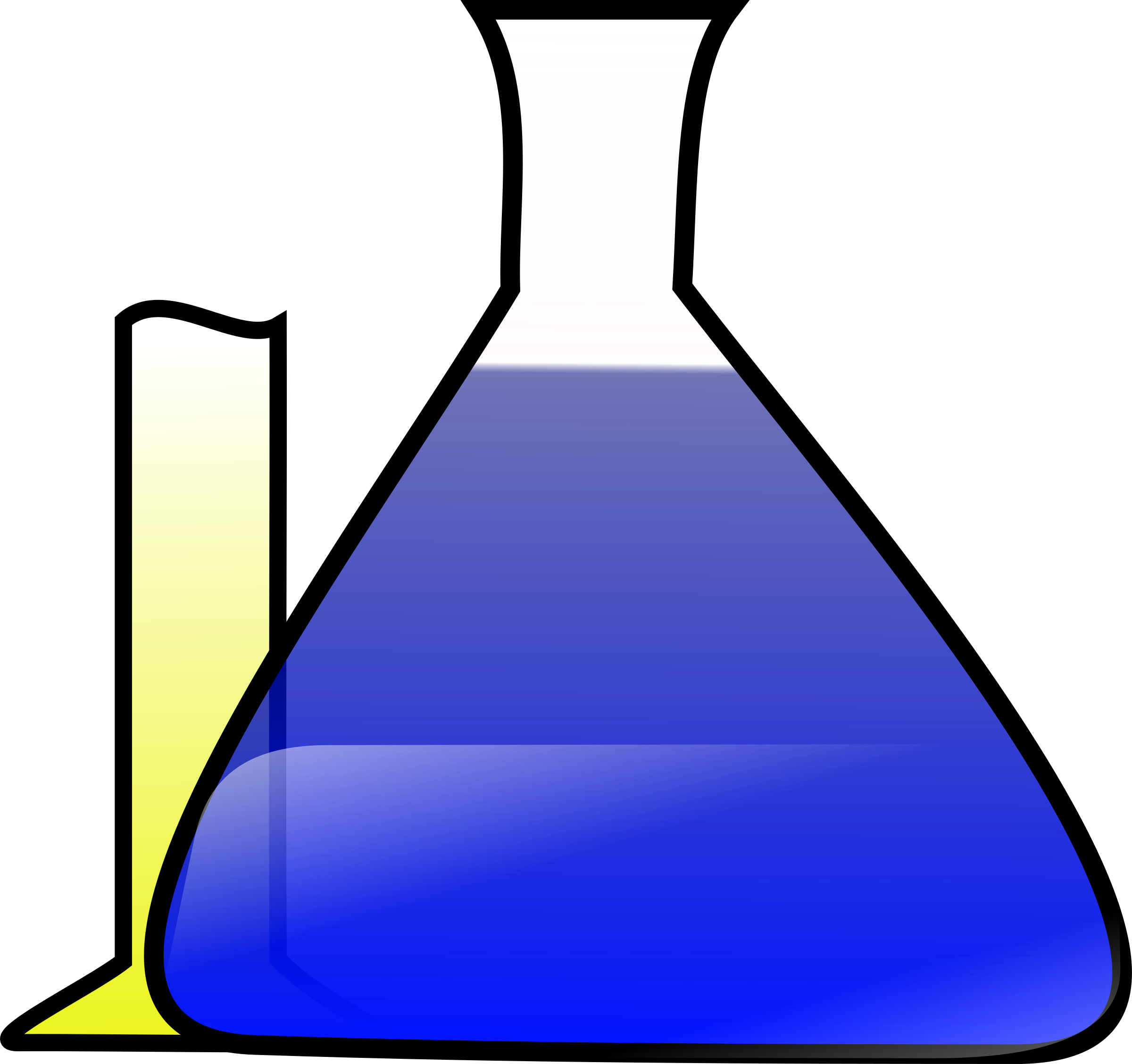 Science experiment big image. Chemical clipart jar