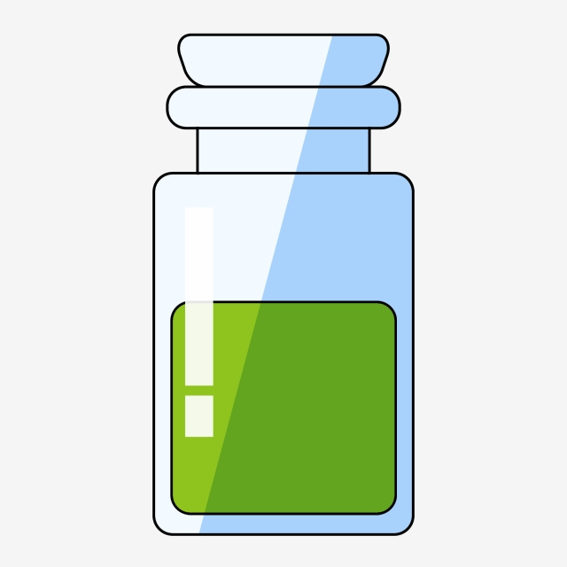 Chemical clipart jar. Cartoon chemistry wide mouth