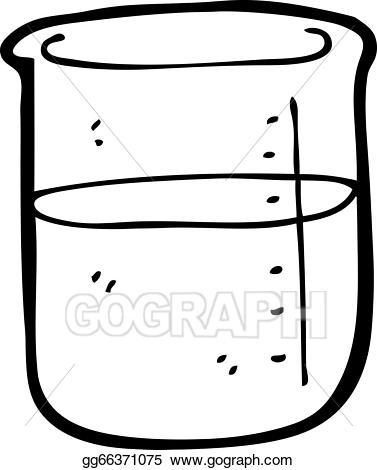 Eps illustration cartoon vector. Chemical clipart jar