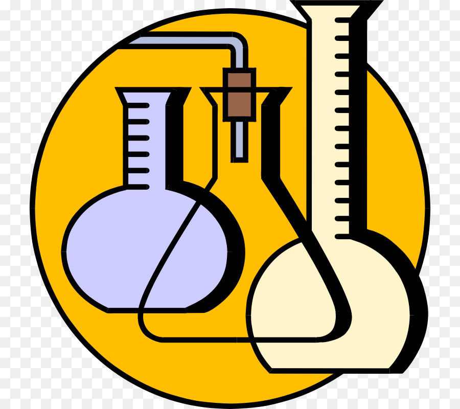 Chemical clipart lab chemical. Chemistry cartoon yellow text