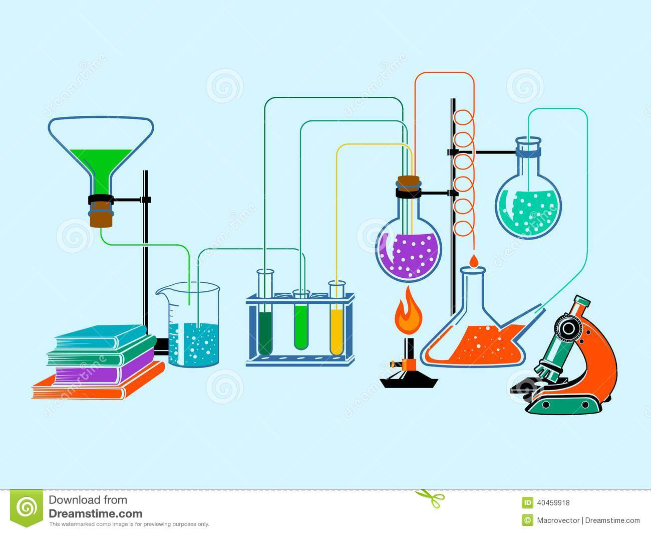 Chemical clipart lab supply. Chemistry equipment station