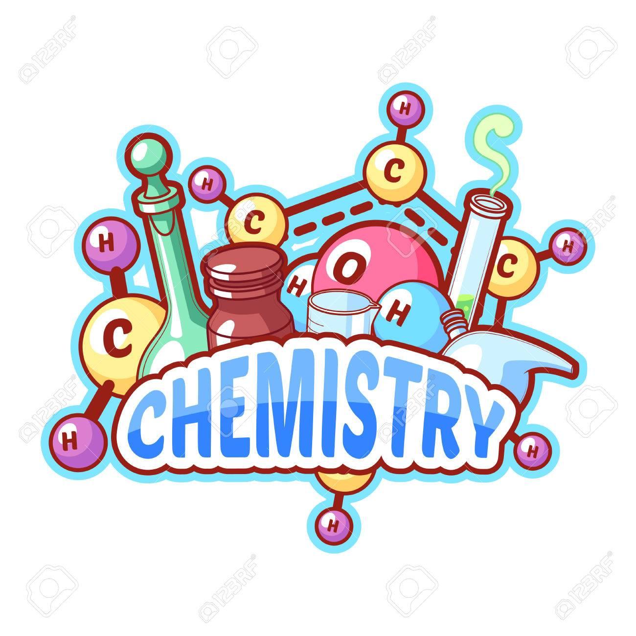 Chemistry clipart logo. Design