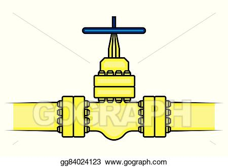 Chemical clipart pipelines. Vector art oil and