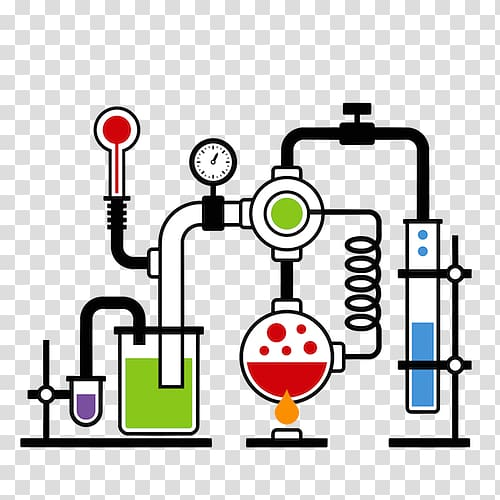 Laboratory chemistry chemielabor . Chemical clipart science