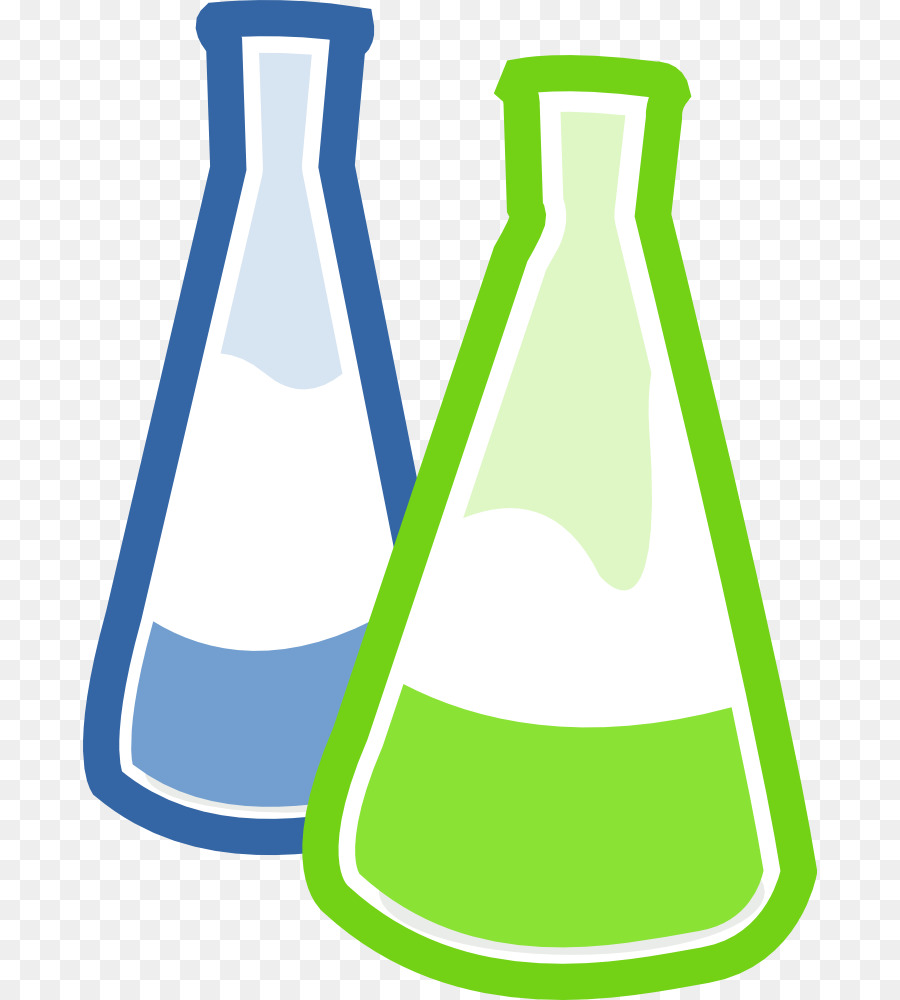 Laboratory flask erlenmeyer clip. Chemical clipart solution chemistry