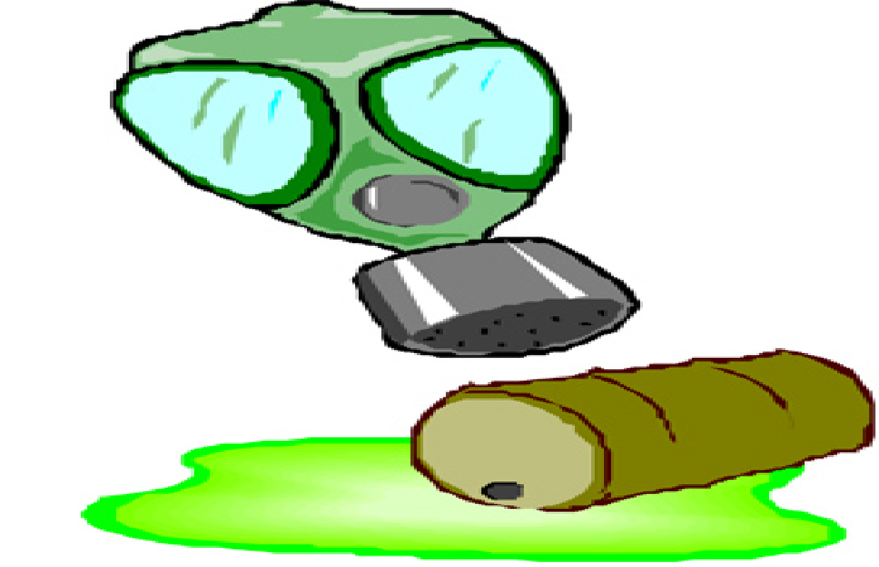 Chemical clipart toxic chemical. Spill at a c