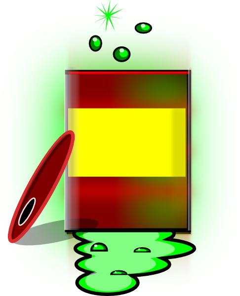 Chemical clipart toxic chemical. Free chemicals