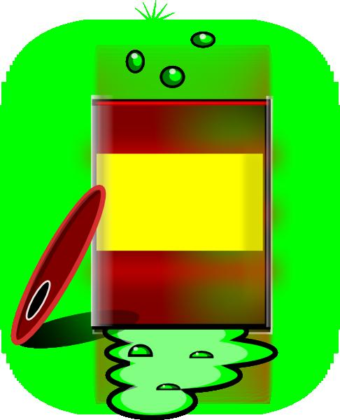 Hazardous chemicals barrel. Chemical clipart toxic chemical