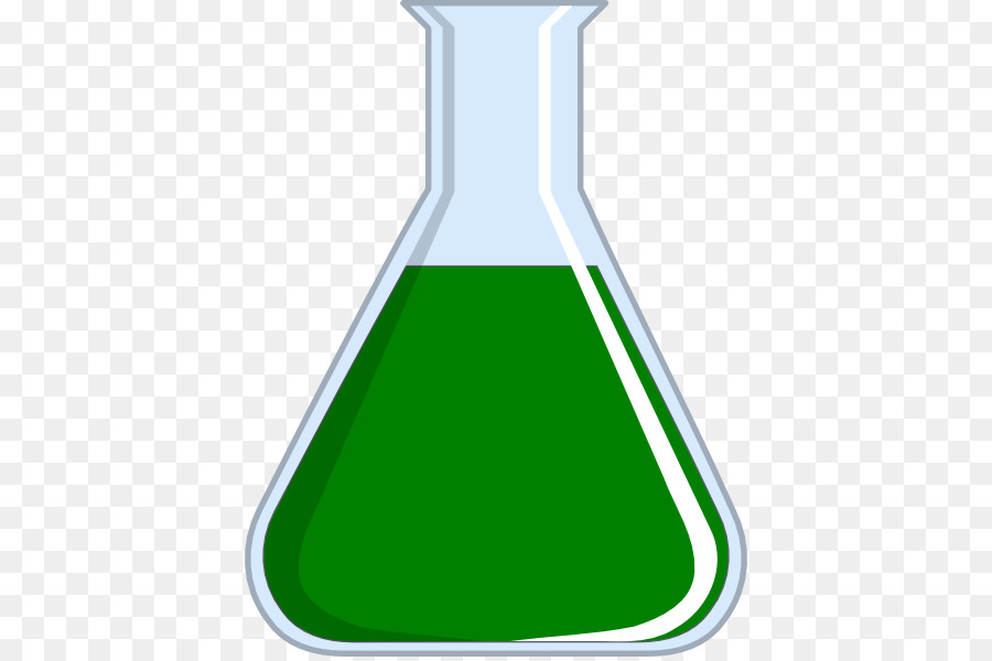 Test tubes laboratory tube. Beaker clipart green