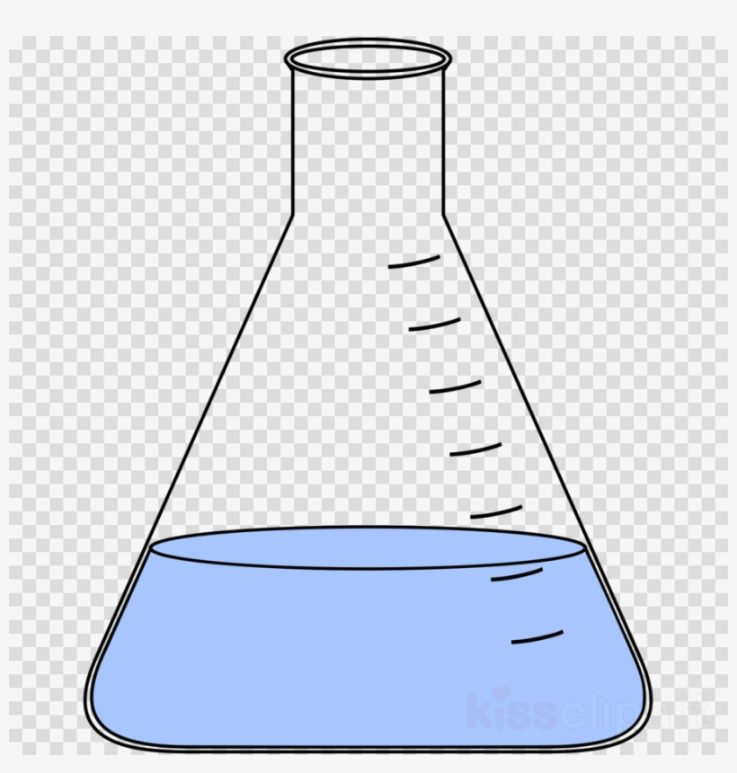 Chemical clipart volumetric flask. Chemistry laboratory flasks erlenmeyer