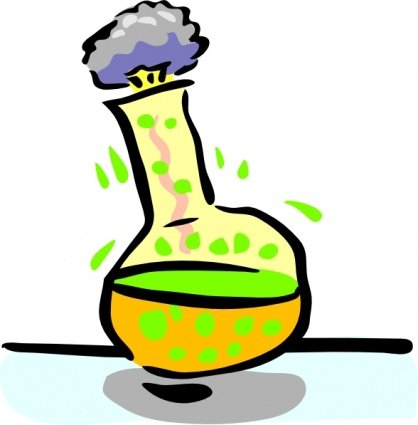 Chemical clipart hazardous chemical. Free experiment and vector