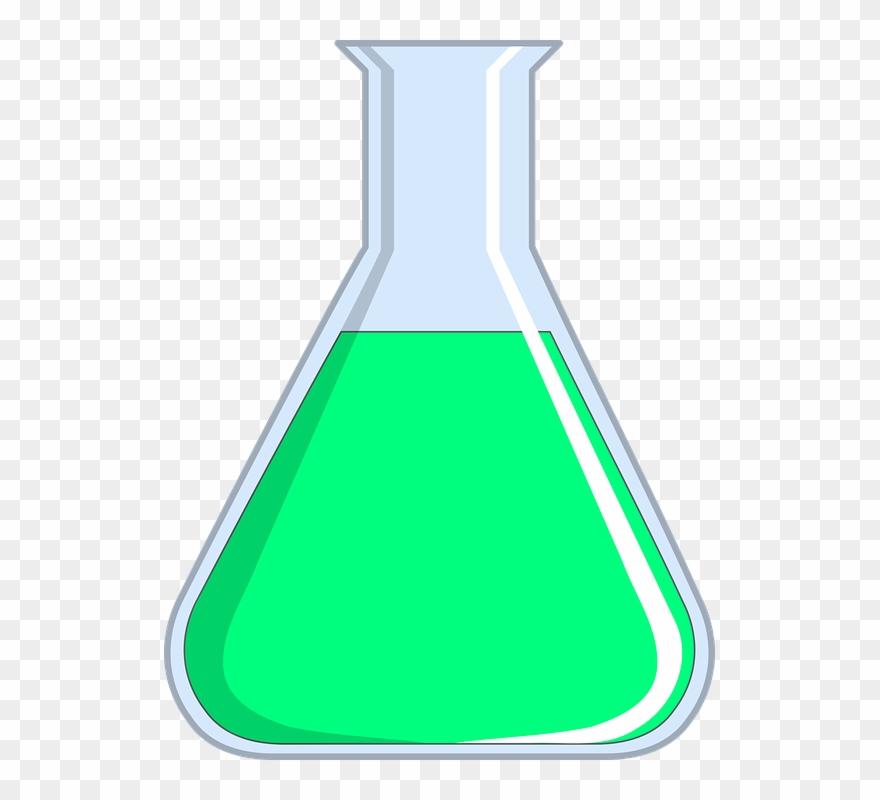 Pharmacy flask clip art. Chemicals clipart chemistry beaker