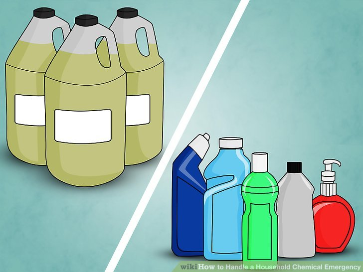 How to handle a. Chemicals clipart container