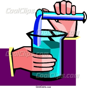 Mixing vector clip art. Chemicals clipart container