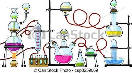 Chemistry clipart vintage.  best ciencias images