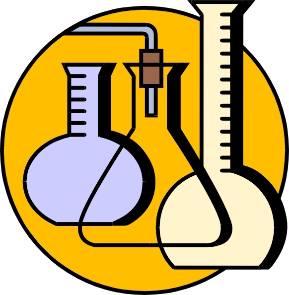 Chemicals clipart lab chemical. Flasks clip art free