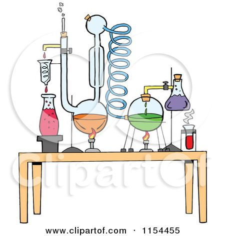 Cartoon of a chemistry. Chemicals clipart lab chemical