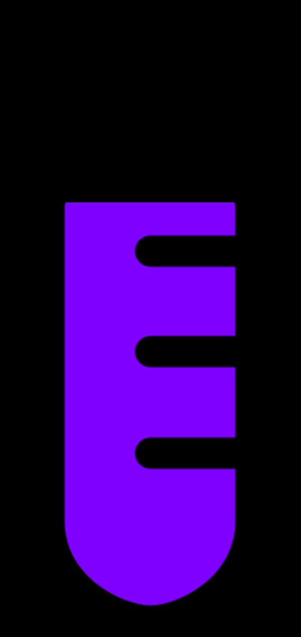Glass test tube chemical. Clipart telephone purple