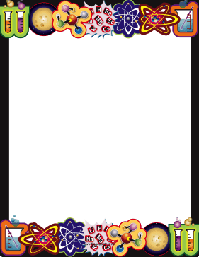 Chemistry clipart borders. Science border png page