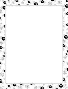 Chemistry clipart borders. Printable border free gif