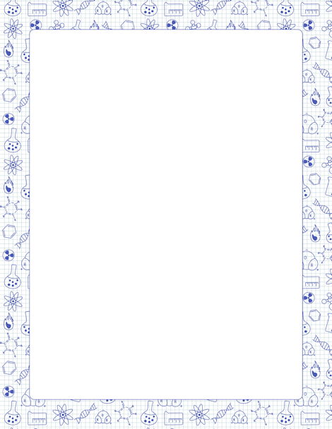 Pin by muse printables. Chemistry clipart borders