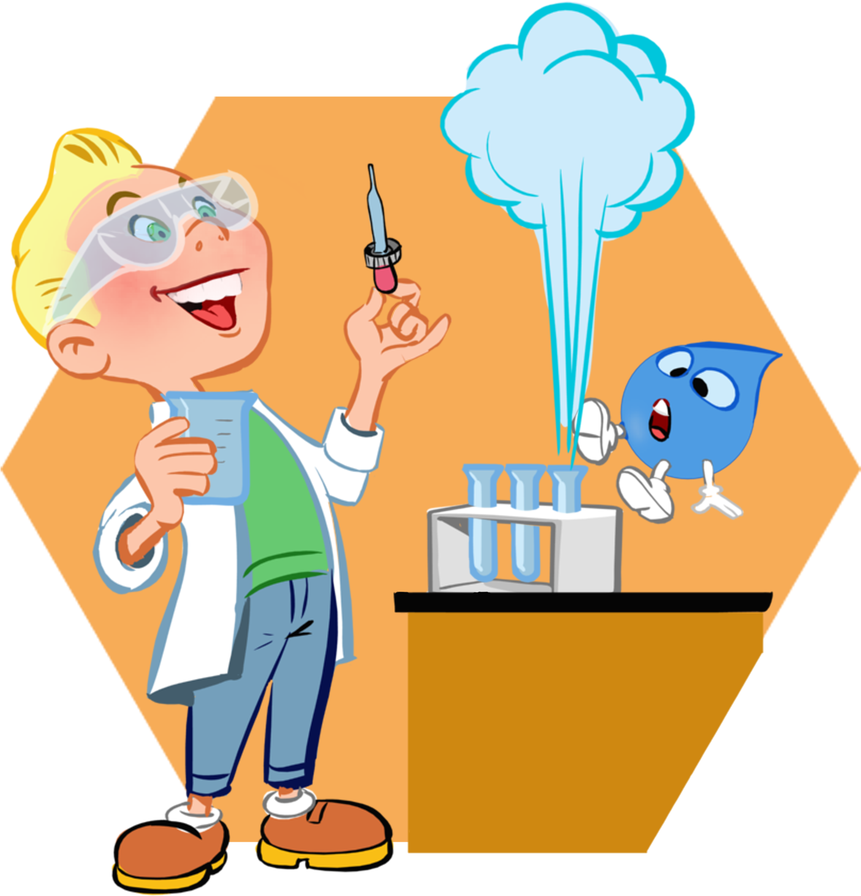 Hd clip change . Chemistry clipart chemical reaction