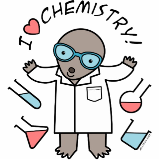 collection of mole. Chemistry clipart cute