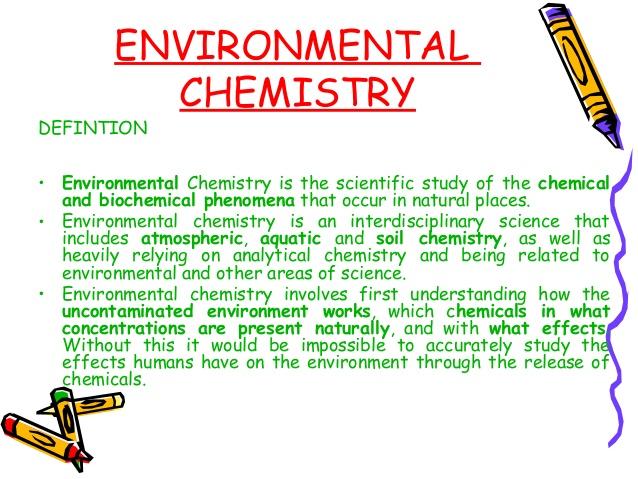 Chemistry clipart environmental chemistry.