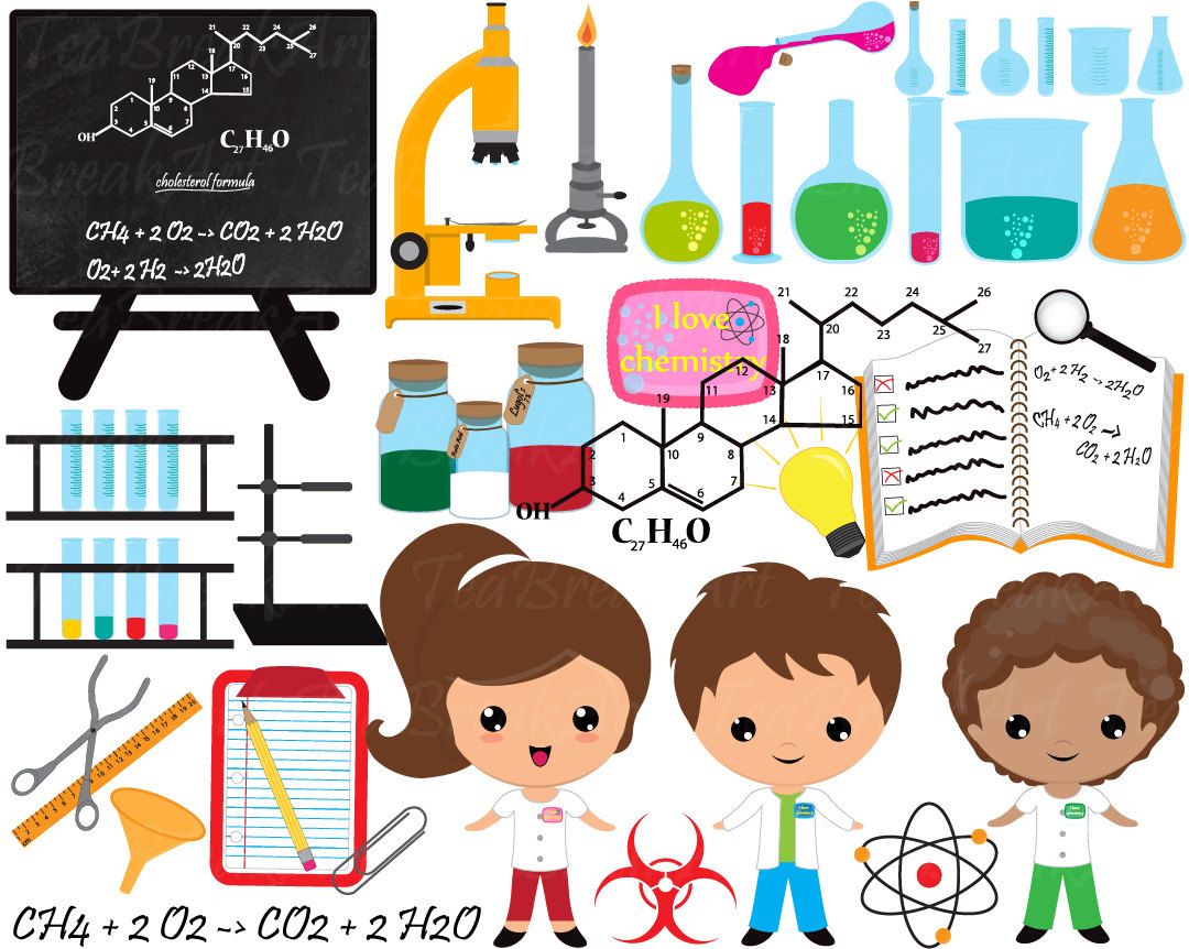 Digital clip art graphics. Chemistry clipart general chemistry