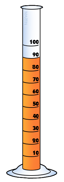 Chemistry clipart graduated cylinder. Clip art by phillip