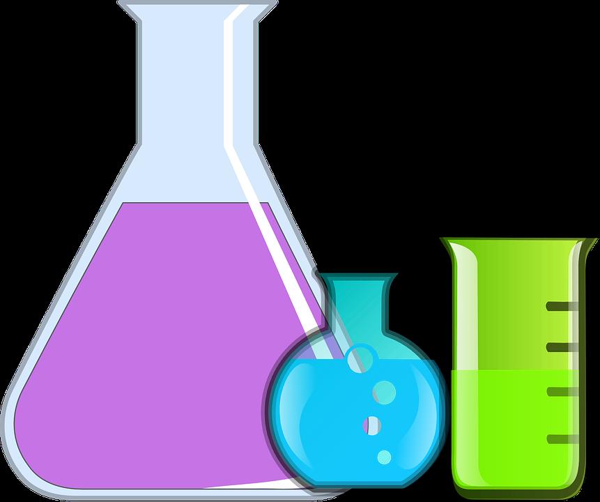 Chemistry clipart mixture. Beaker cartoon science