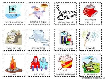Vs chemical change free. Chemistry clipart physical chemistry