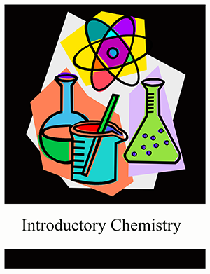 Palni affordable education initiative. Chemistry clipart title page