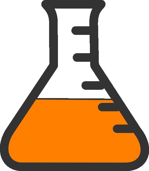 Beaker science test tube. Chemistry clipart transparent