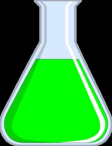 Flash green clip art. Chemistry clipart transparent