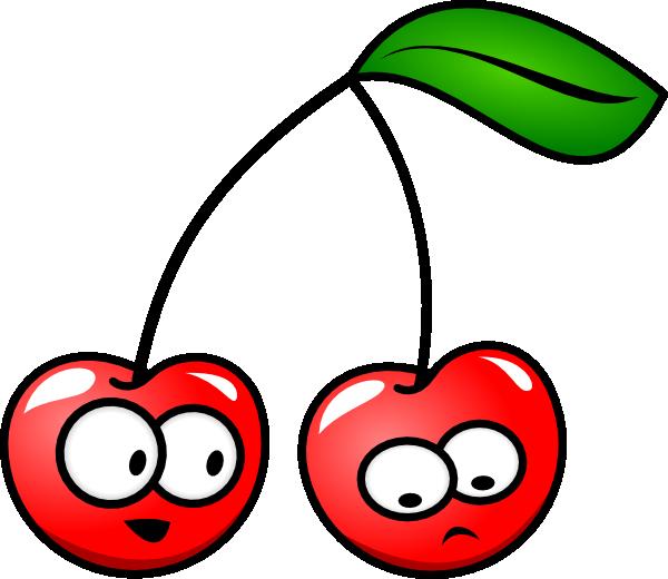 Cartoon cherries clip art. Cherry clipart animated