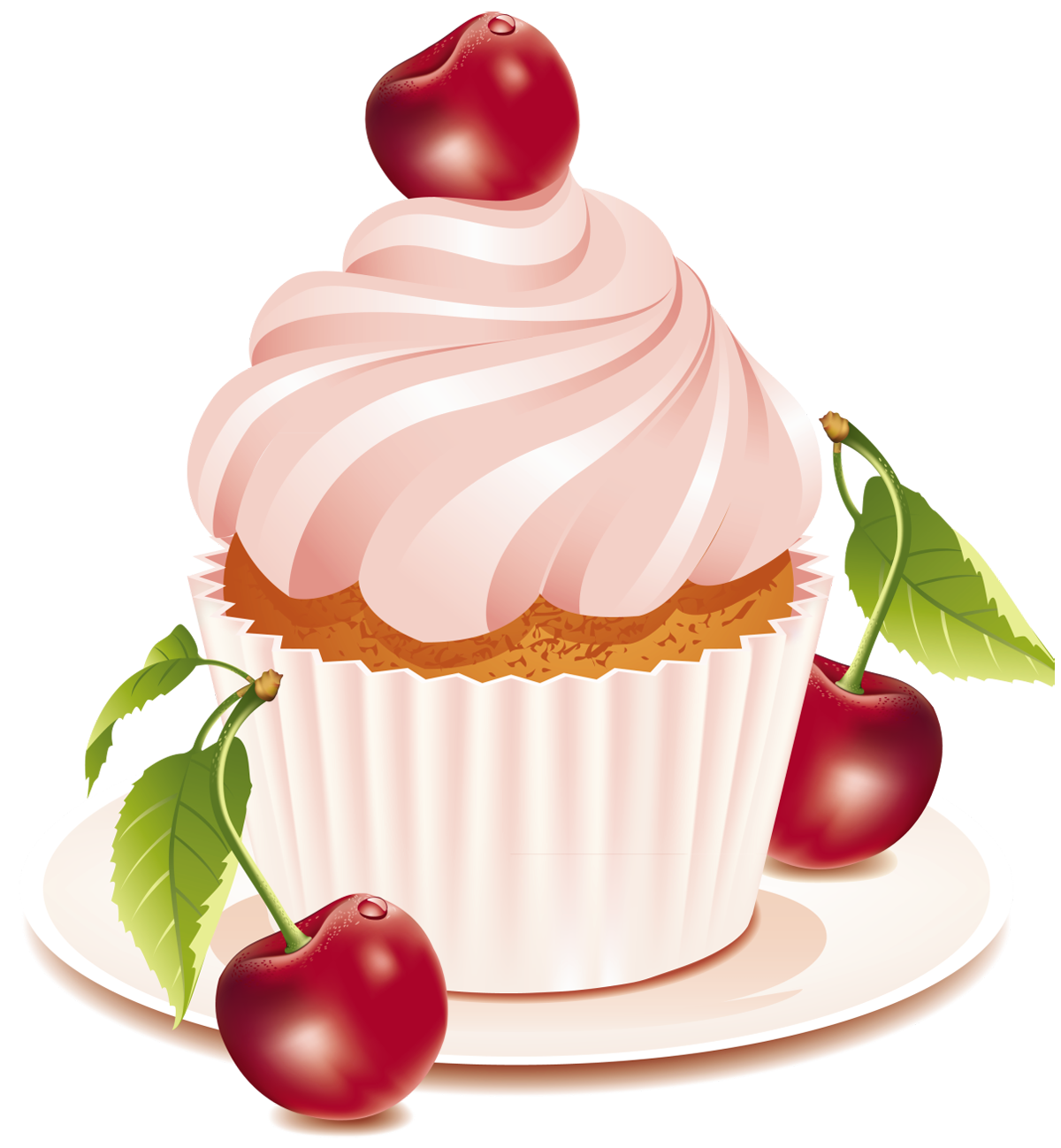 Cherry cake png gallery. Bakery clipart transparent