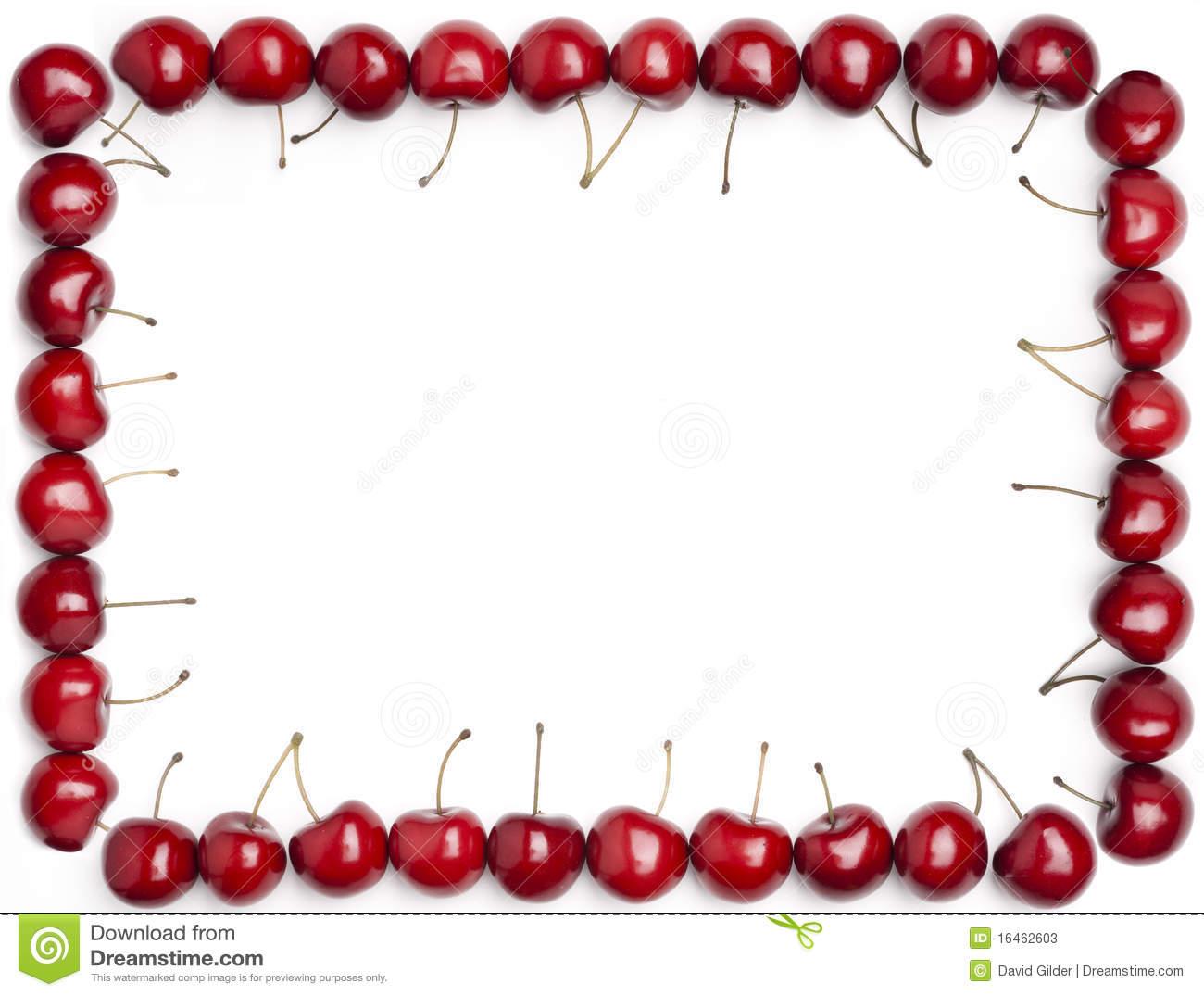 cherry clipart border