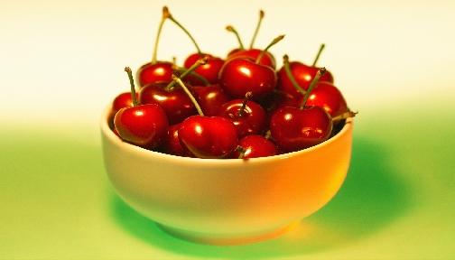 Of . Cherries clipart bowl