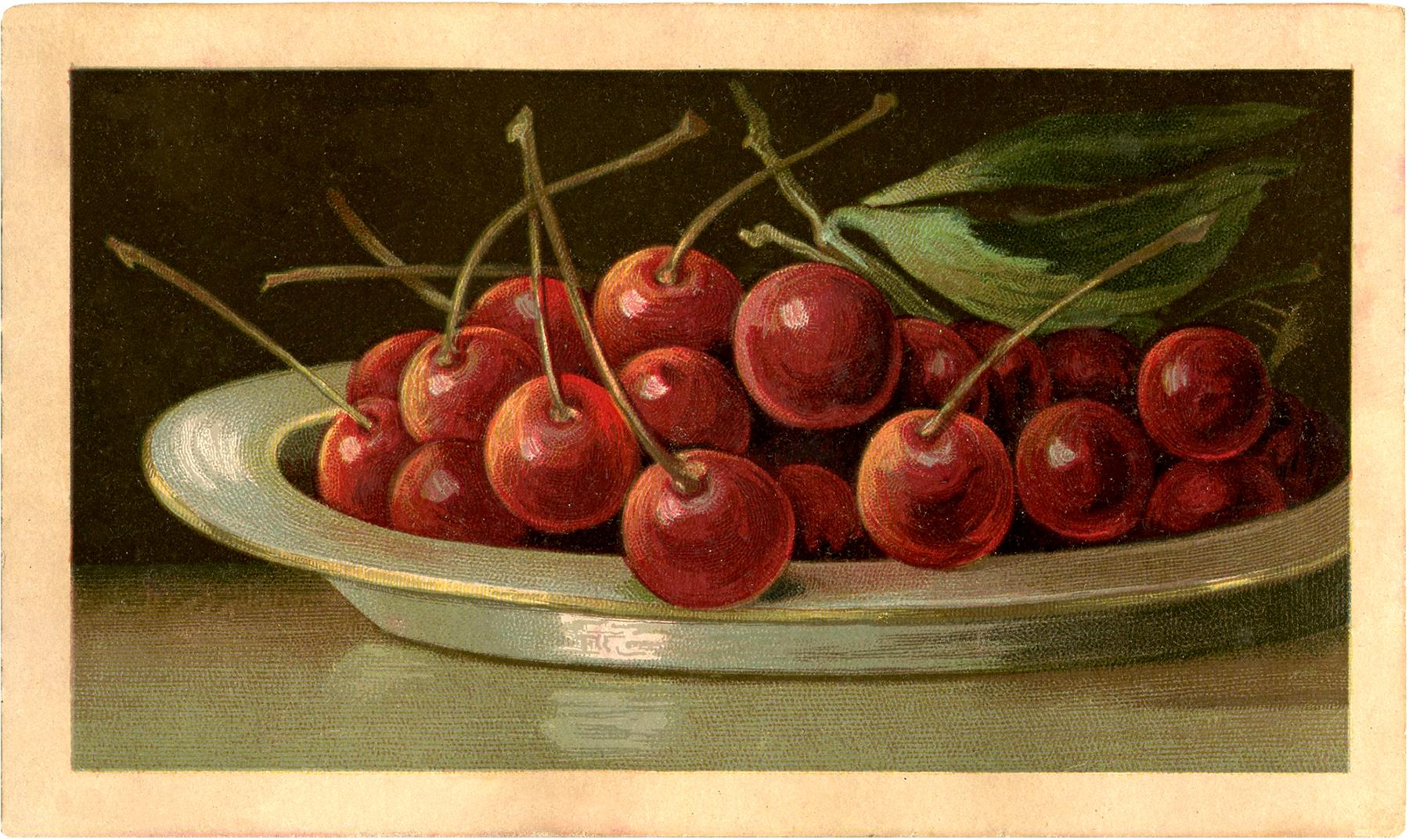 Cherries clipart bowl. Full of image beautiful