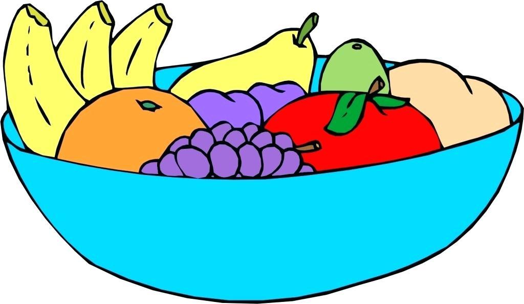 Cherries clipart bowl. Fruit of cartoon picwallpaper