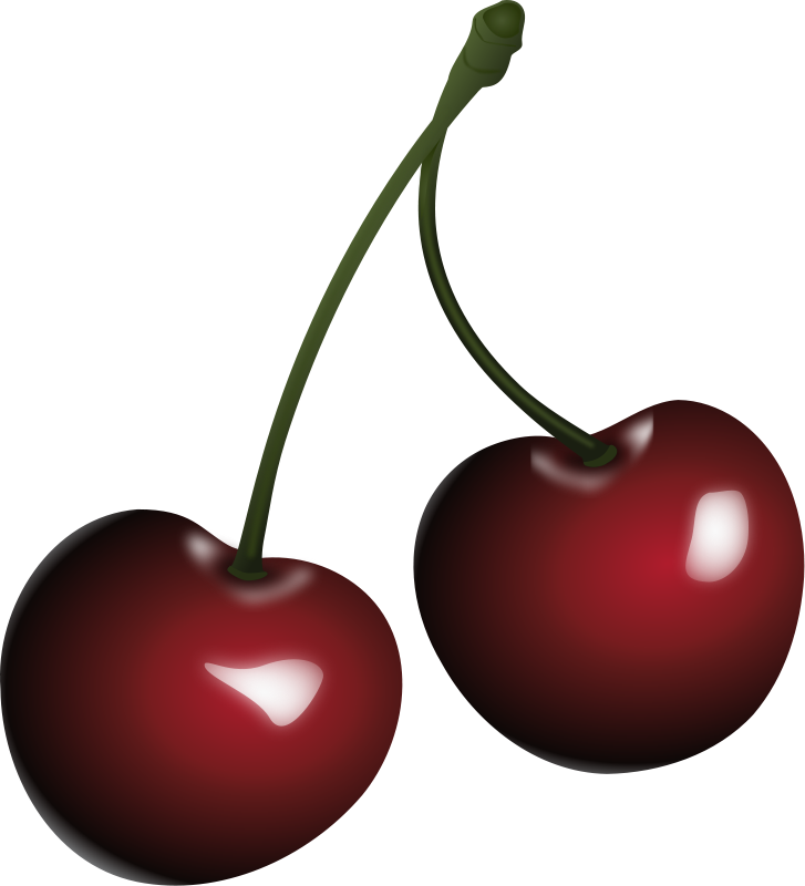 Free pictures of cherries. Cherry clipart bunch cherry