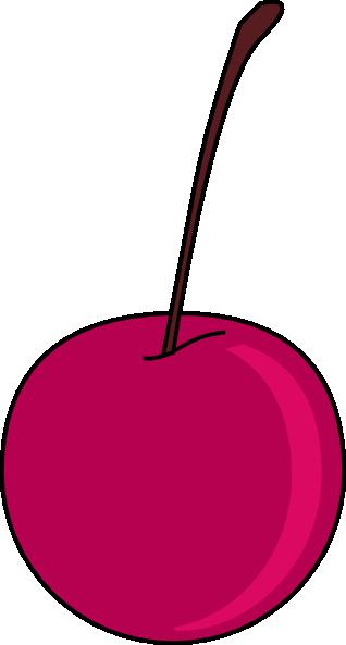 Cherry clipart vector. Clip art at clker