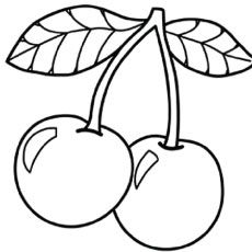 Cherries clipart color. Top free printable cherry