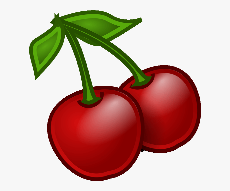 Cherry coloring page free. Cherries clipart color