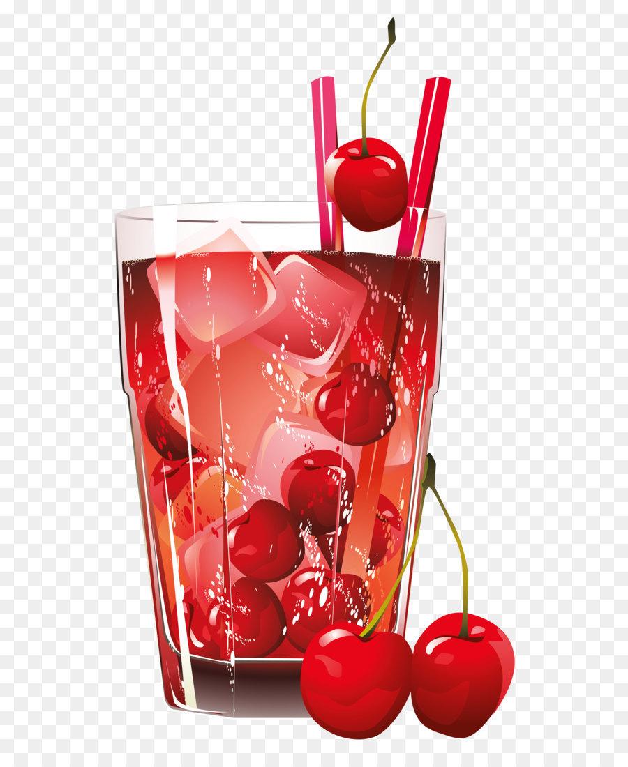 Cherries clipart cranberry. Juice cocktail brandy clip
