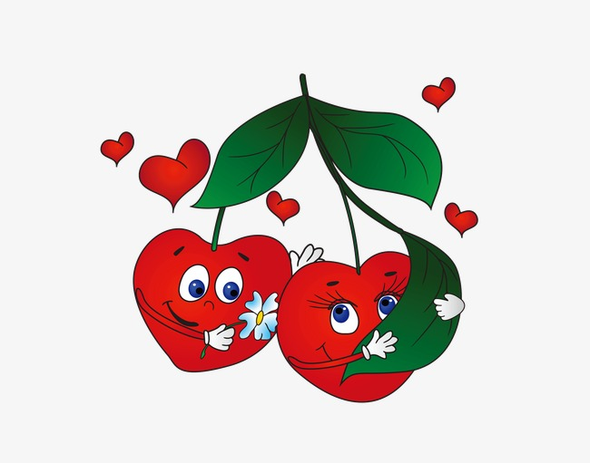Cherry clipart face. Expression fruit funny png